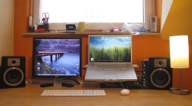 [mac] mStand – Tischständer für's MacBook Pro