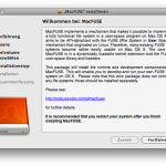 MacFUSE Installation