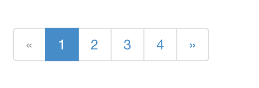 Bootstrap 3: Pagination