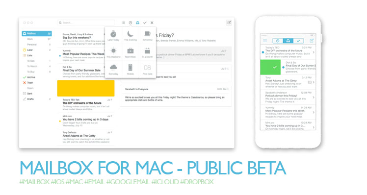 Mailbox for Mac Beta (inkl. Coins)
