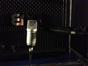 Mikrofonirrung der zweiten E-Gitarre