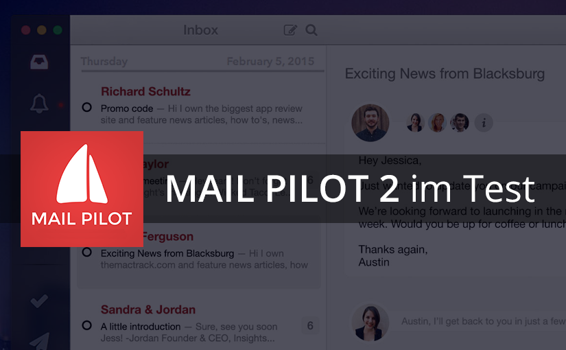 Mail Pilot 2 für Mac OS X im Test