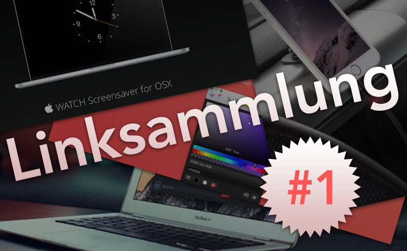 Linksammlung #1: DaisyDisk, Skala Color,Foto-Backups, Apple Watch Screensaver u.v.m.