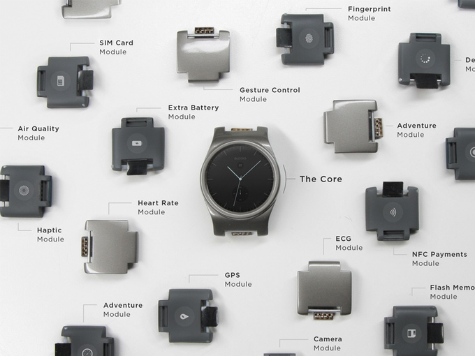 Blocks: A Modular Watch